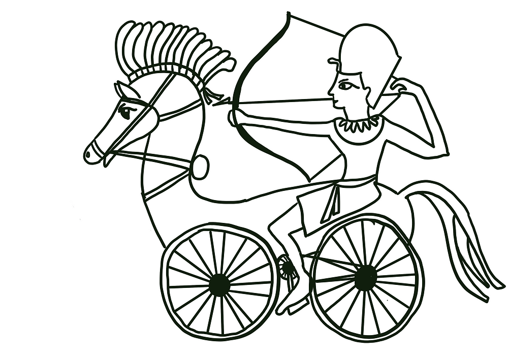 Bicycle Horse Chariot