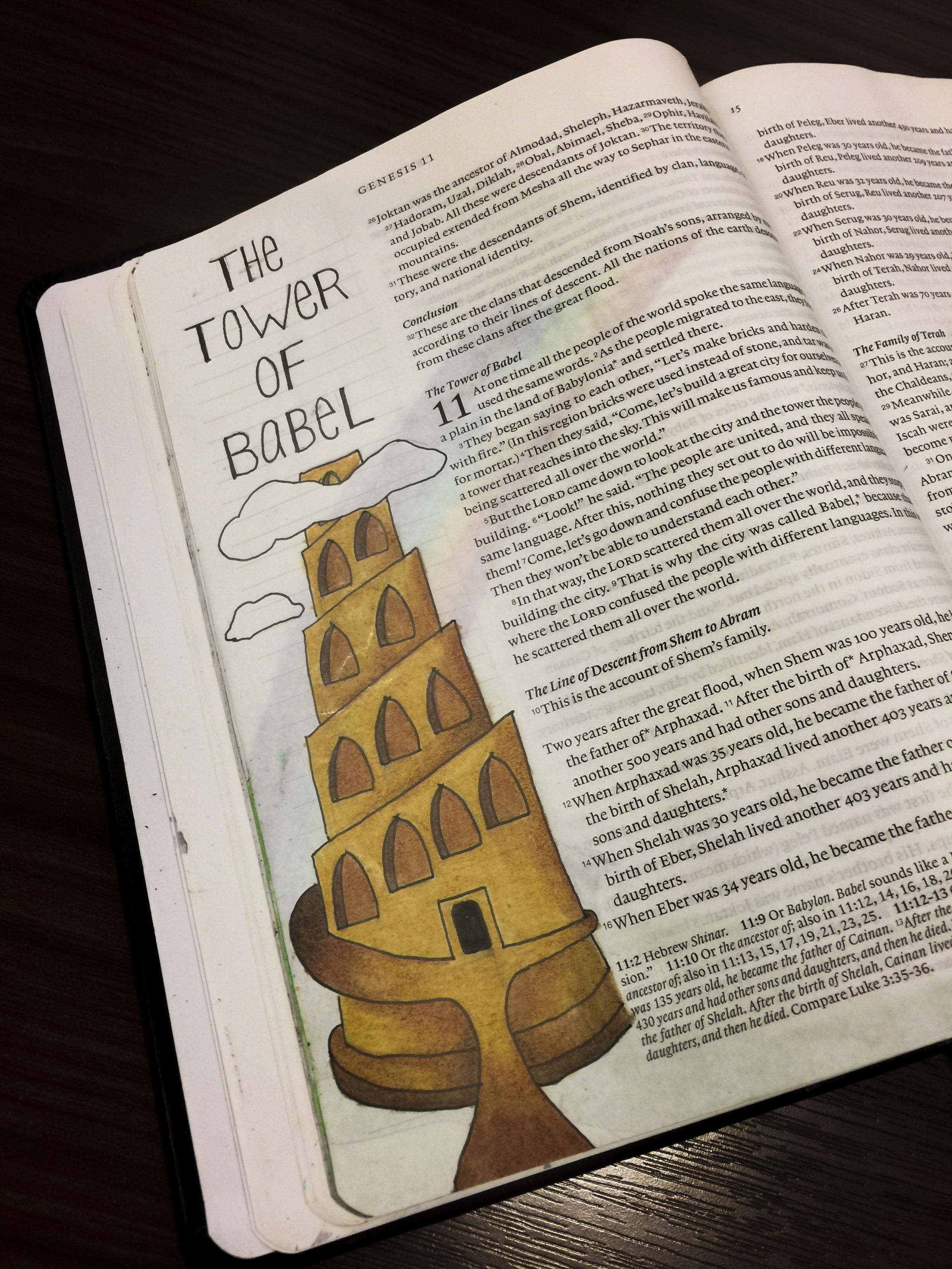 Bible Journaling | Elise Blakely Art