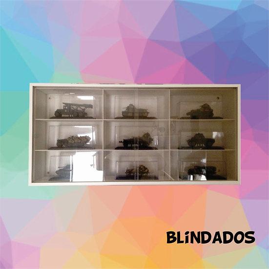 Estante Expositor ( Blindados ) - Coleção - Miniaturas
