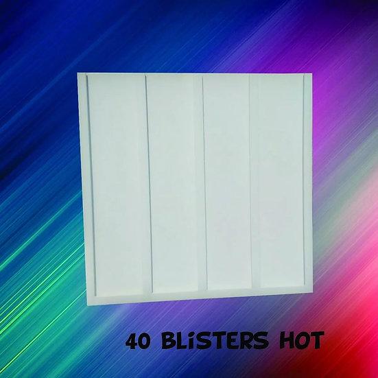 Expositor - Porta 40 Blisters -hot Wheels Coleção Miniaturas