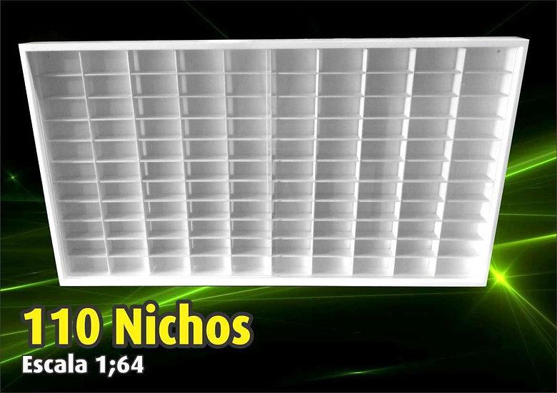 Estante Hot Wheels (110 Nichos) Coleção - Expositor - 1;64