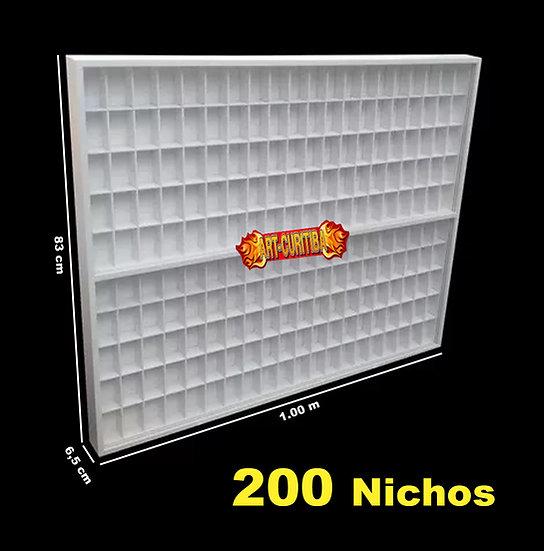 Lego Estante Expositor 200 Bonecos Comics Play Mobil Figuras