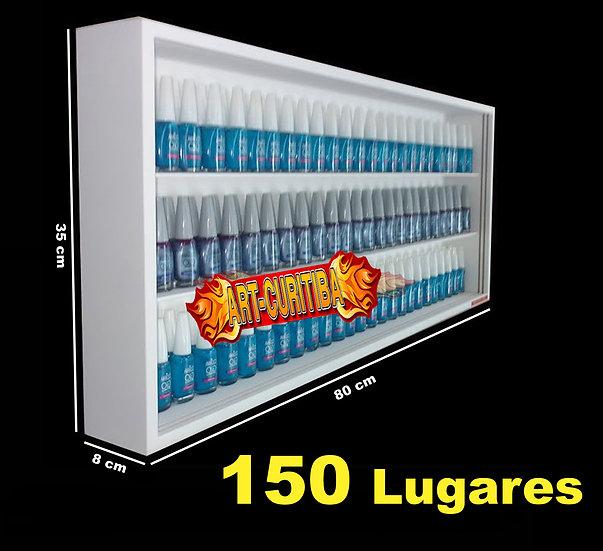 Estante (150) Esmaltes (com Portas Acrilicos) Manicure Unhas