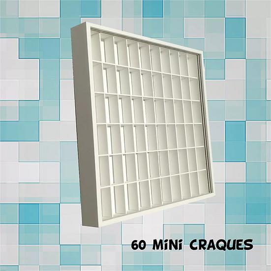 Estante (60) Bonecos Playmobil - Super Mario - Mini Craques