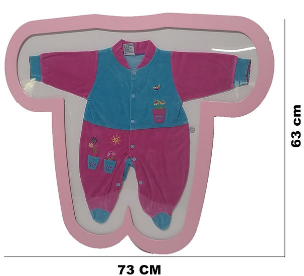 Quadrinho Primero Macacão  Tip Top Expositor Quarto Bebe Camisa