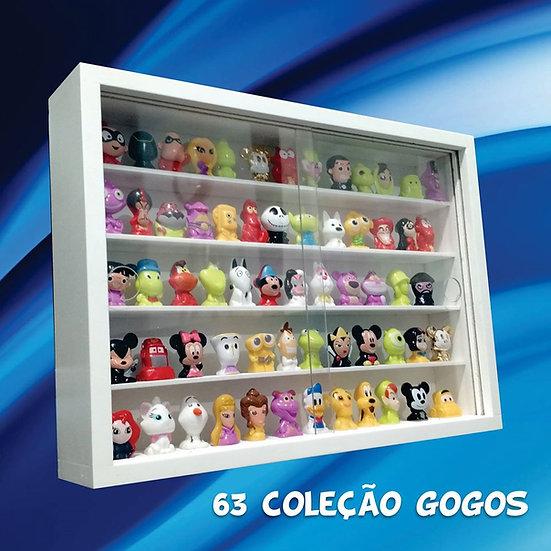 Expositor ( 63 ) Gogos Disney Panini- Crazy- Claro - Figuras