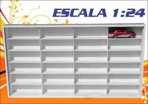 Estante Escala 1:24 (( 24 Lugares )) Maisto - Hot Wheels