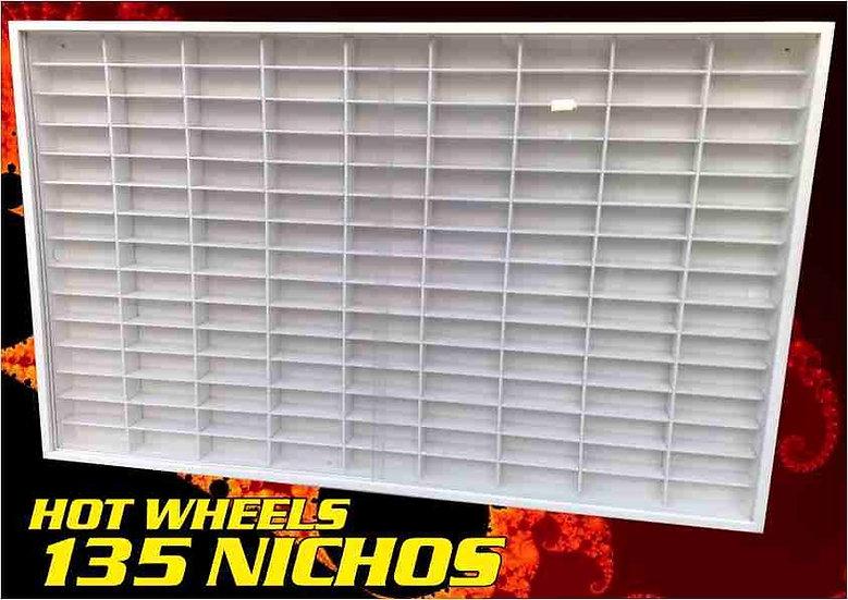 Estante ( 135 ) Nichos- Hot Wheels Coleção - Miniaturas