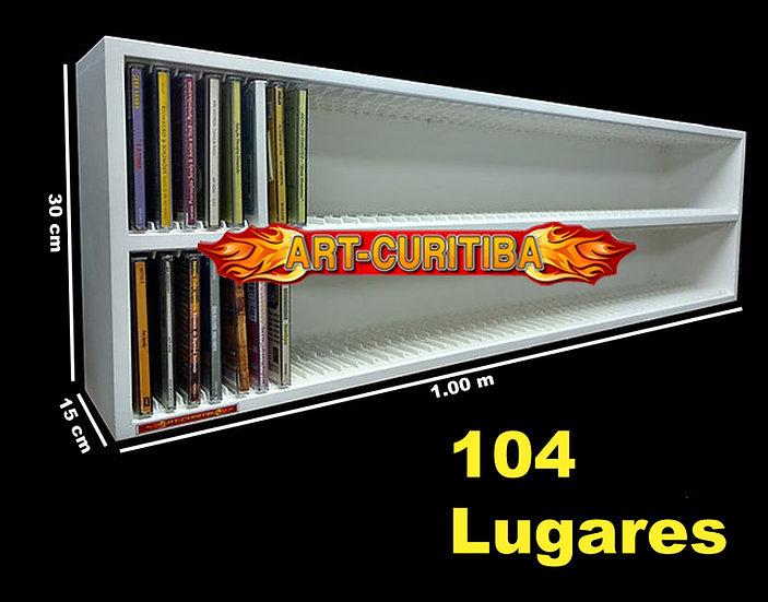 Estante 104 - Cds - ( Com Divosorias ) Medidas 1.00x30x15