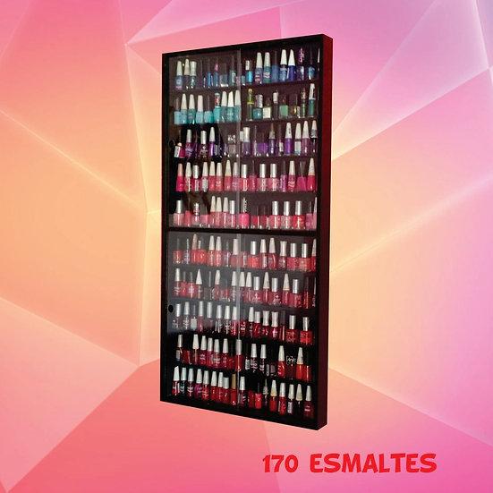 Expositor Estante (preta) (170) Esmaltes Manicure - (portas)