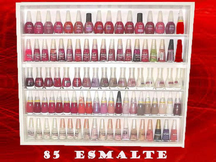 Estante Coleção (( Para - 85 )) Esmaltes Unhas - Manicure