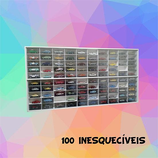 Estante 100 Nichos - Mdf Inesquecíveis Brasil ( Deagostini ) 1:43