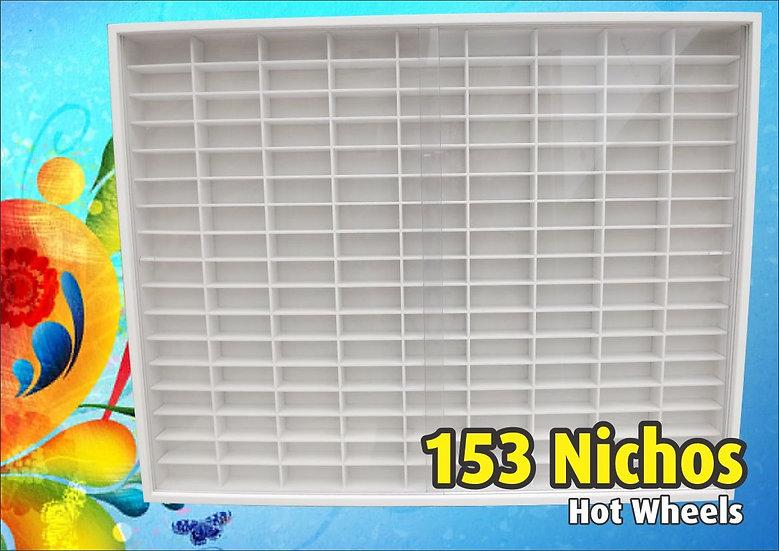 Estante (( 153 )) Nichos 1;64 Hot Wheels - 80 X 62 X 6.5