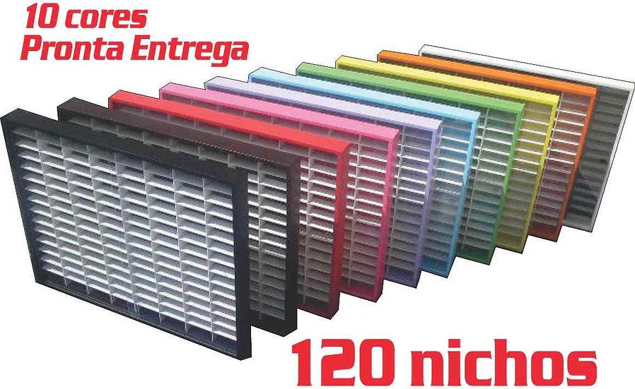 Estante (( 120 Nichos )) Hot Wheels ((10)) Opçoens De Cores