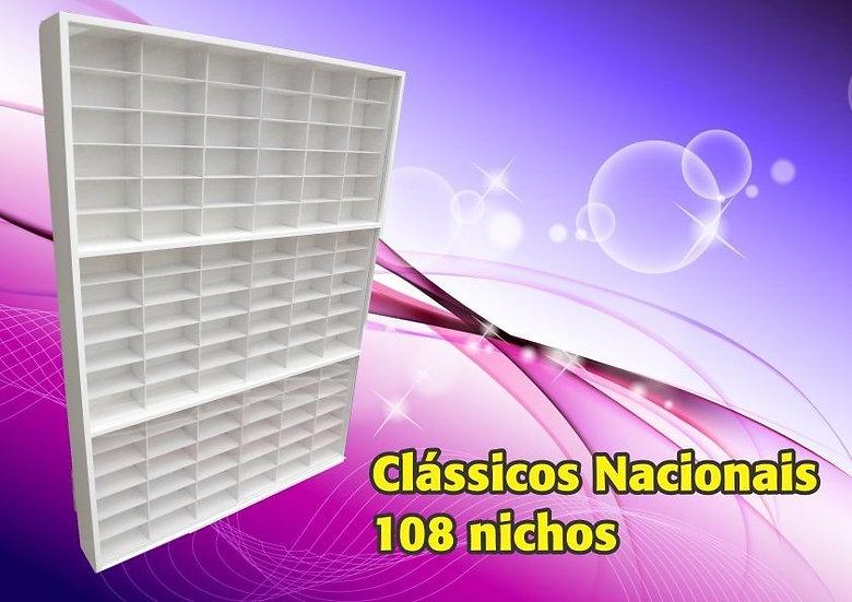 Estante ( 108 Nichos ) Clássicos Nacionais-1:43 - Hot Whells