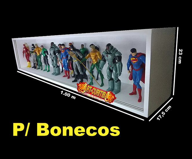 Estante Expositor Bonecos Figuras Marvel Action Fig - Funko - BCA