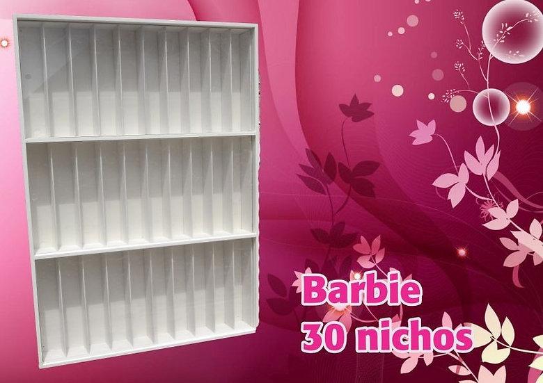 Estante (30) Lugares - Casa Da Barbie -monster Righ- Bonecas