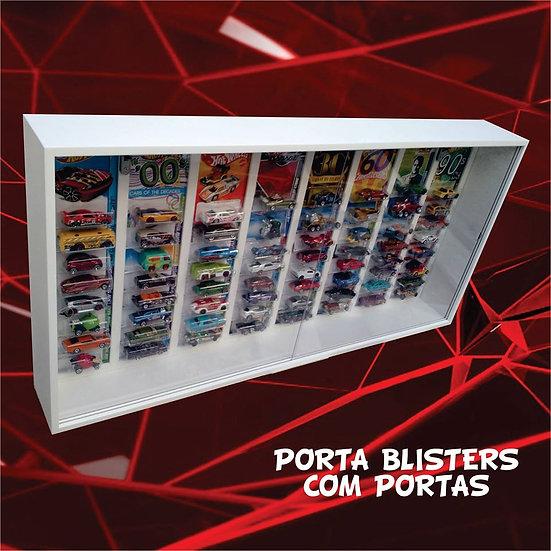 Estante (( Porta Blister )) Hot Wheels -protegido Com Portas