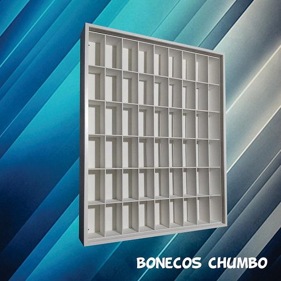 Expositor Estante (54) Bonecos Miniaturas D Chumbo Marvel Dc