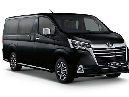 Welcome SA's new 'luxury taxi': The Toyota Quantum VX