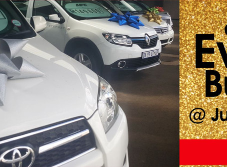 It's the season to be jolly... and to buy a car @ Judine Motors
