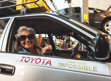 Gutsy 80-year-old grandmother drove to London from South-Africa