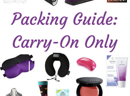 How to pack a perfect Carry-on