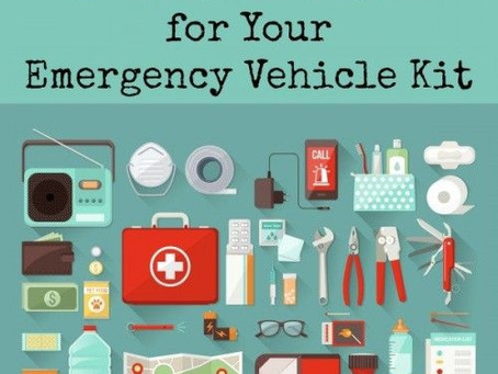 46 Items to Include in your Vehicle Emergency Kit