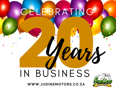 Celebrate 20 years in business with us!