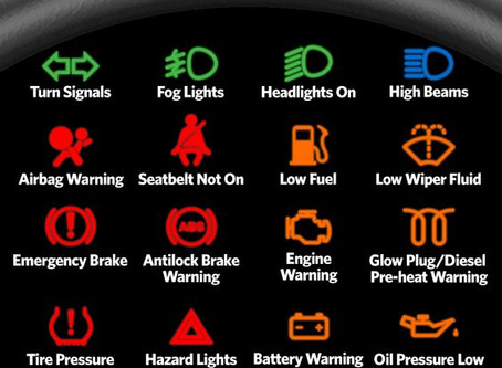 What's that light on my dashboard?