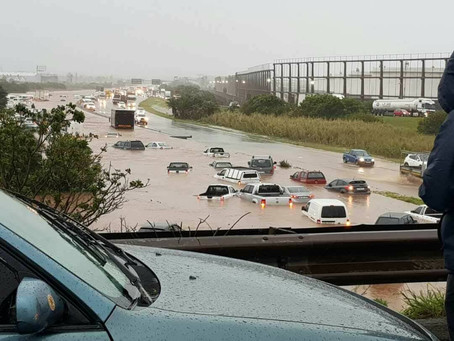 Here's how to drive in rain and in floods