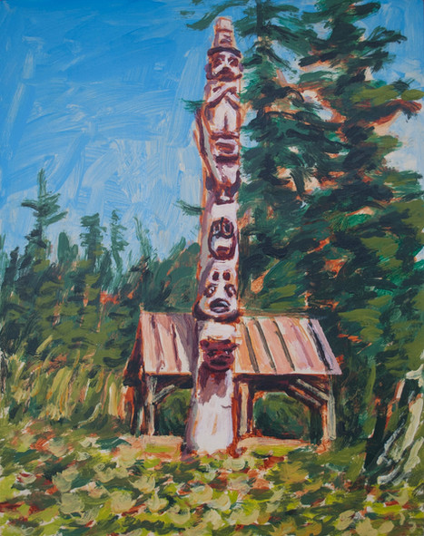 Untitled (Totem Pole)