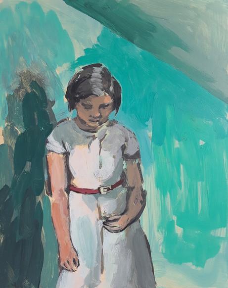 Girl in the Quiet Room