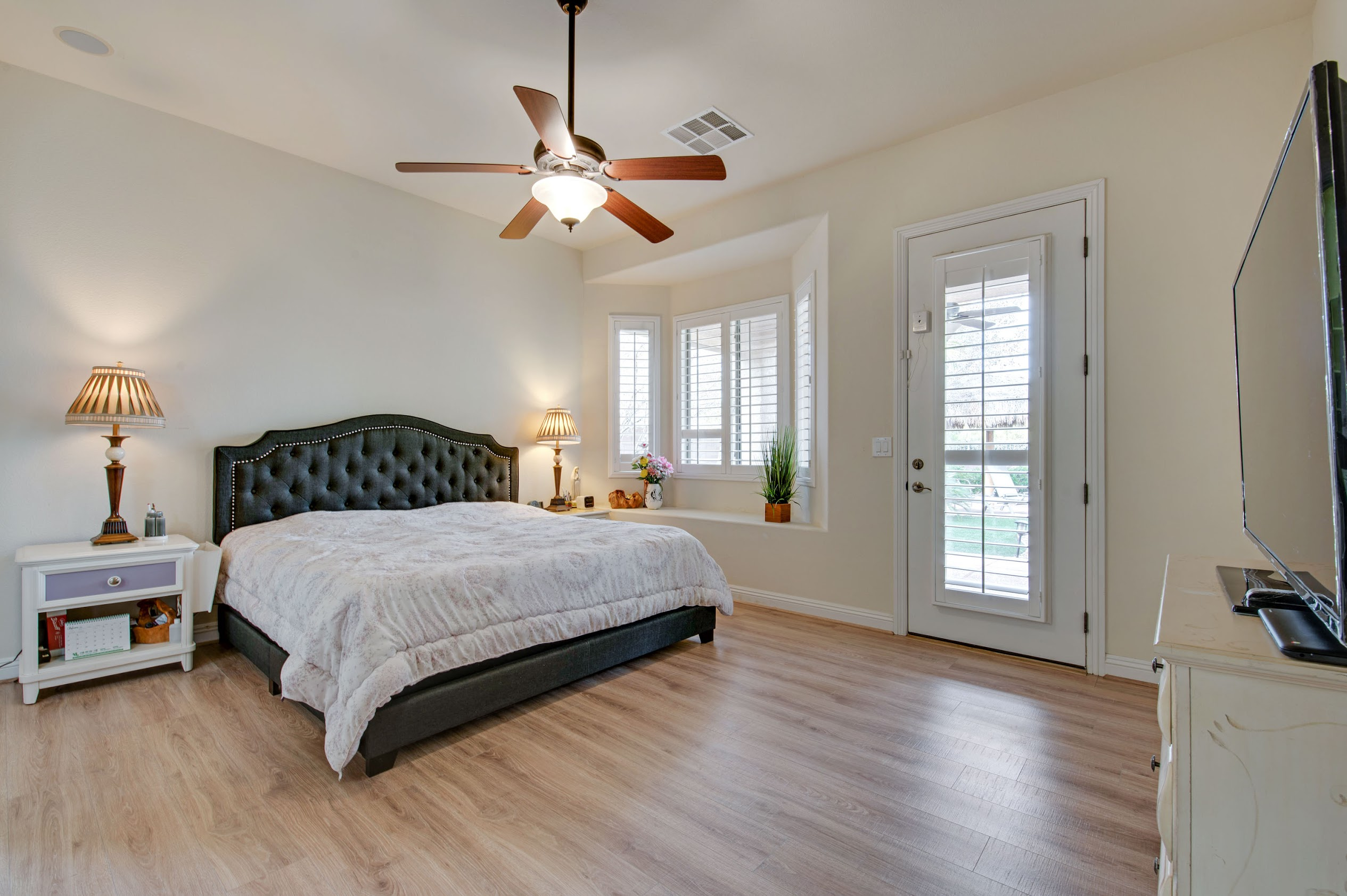 Small Master Bedroom