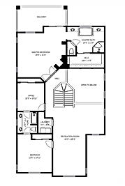 2D Floor Plan Las Vegas Real Estate