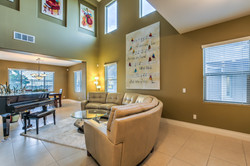 Living room near entry
