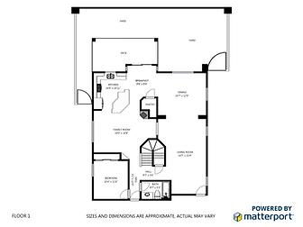 2D Floor Plan Las Vegas Real Estate