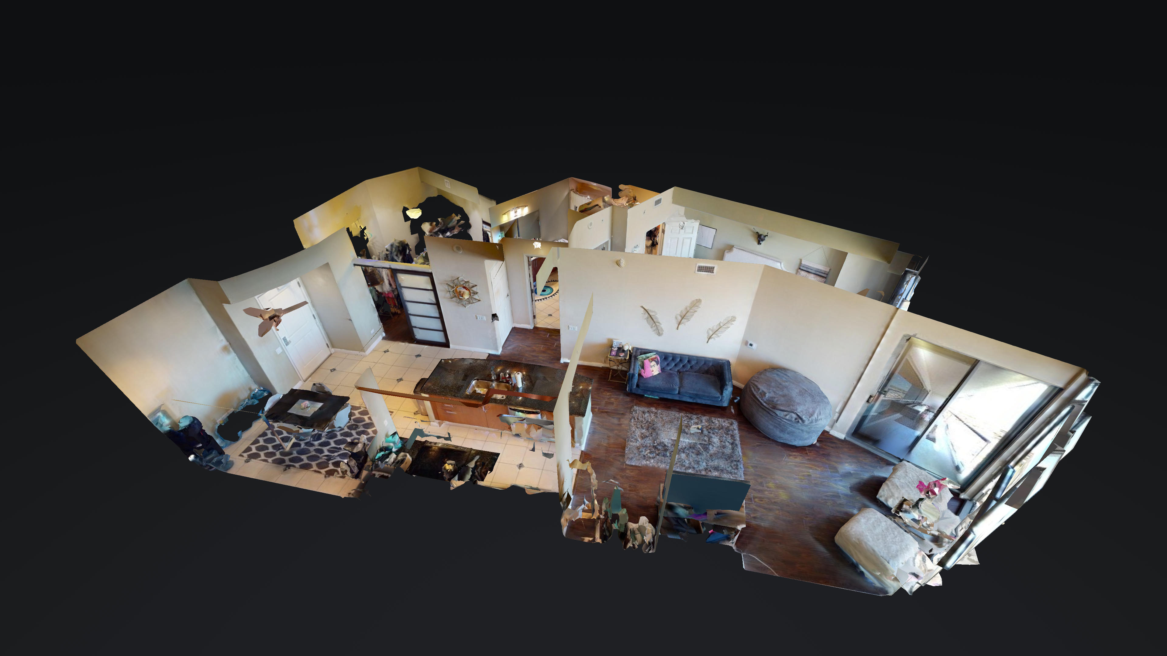 Matterport Dollhouse - 1 Bedroom