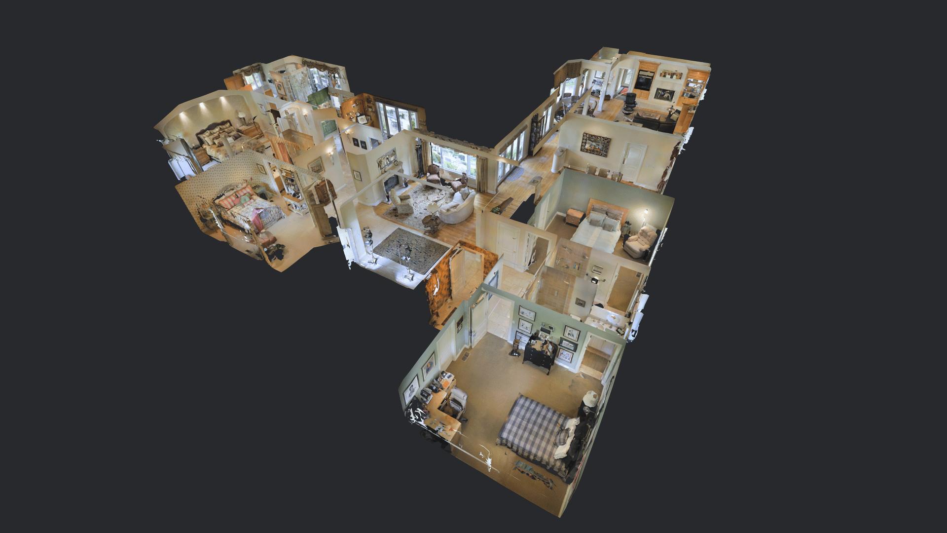 Interactive 3D Virtual Tour