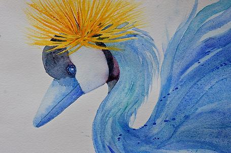 Crowned Crane Mary Waters  Monroe.jpg