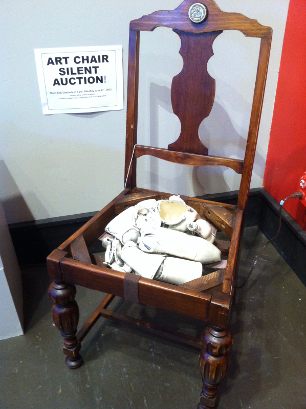 Art Center Ukiah Chair Affair 2015