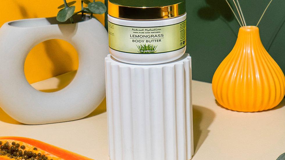 Natural Hydration Lemongrass Body Butter