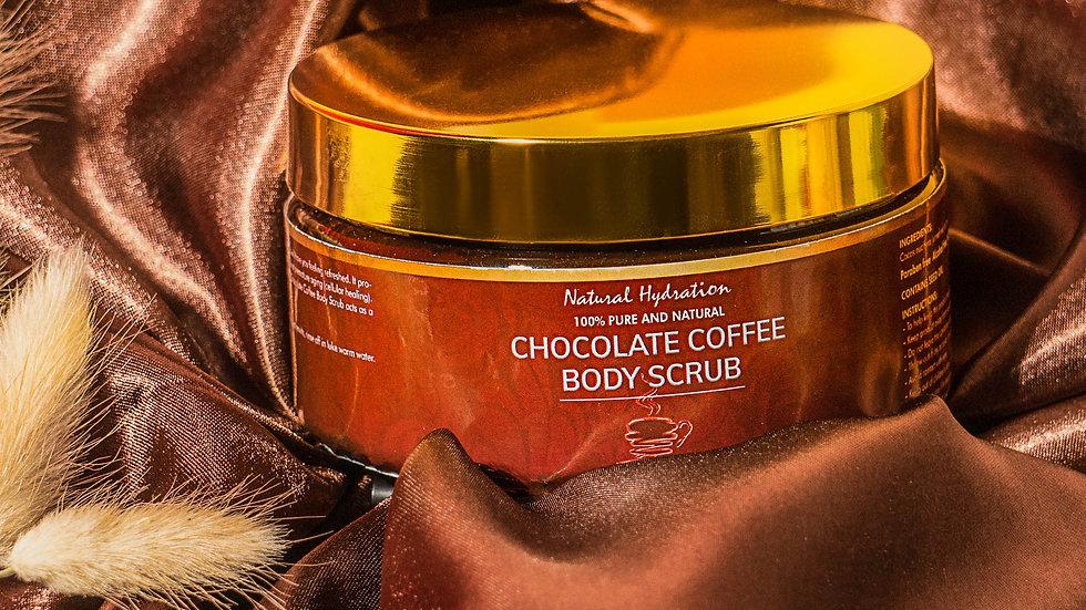 Natural Hydration Chocolate Coffee Body Scrub
