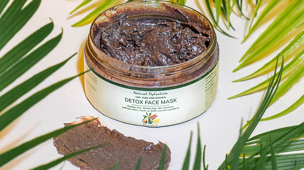 Natural Hydration Detox Face Mask