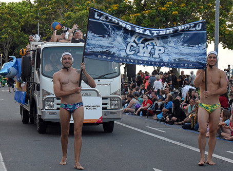 Cairns Water Polo Parade Fun