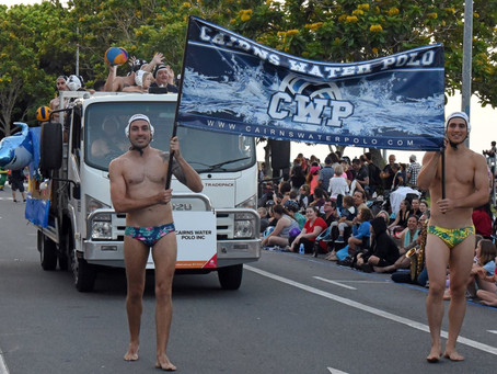 Cairns Water Polo Parade Fun