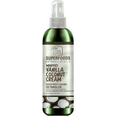 Superfoods Vanilla Coconut Cream Detangler