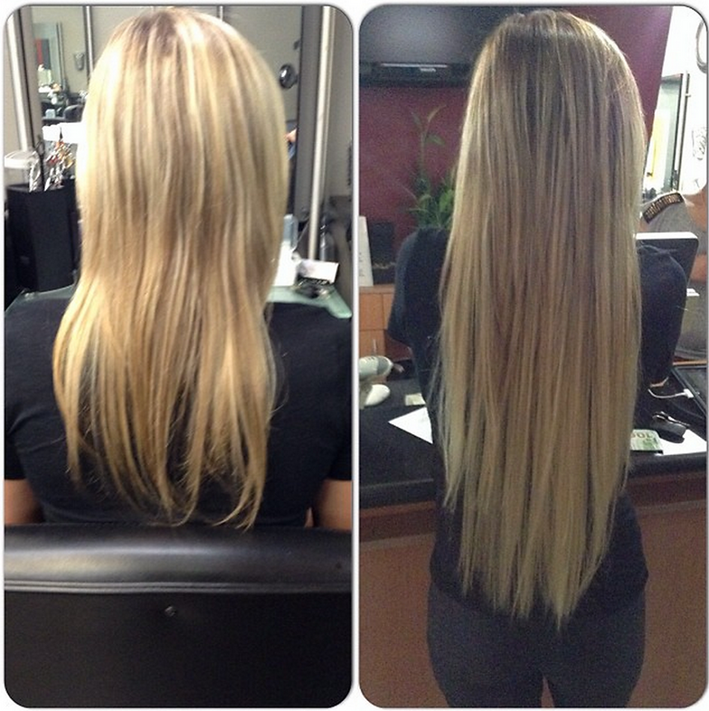 Hair Extensions Hair Rx Salon And Skin Care
