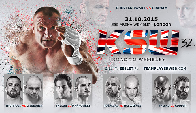 MuscleMassBrothers KSW Wembley MMA