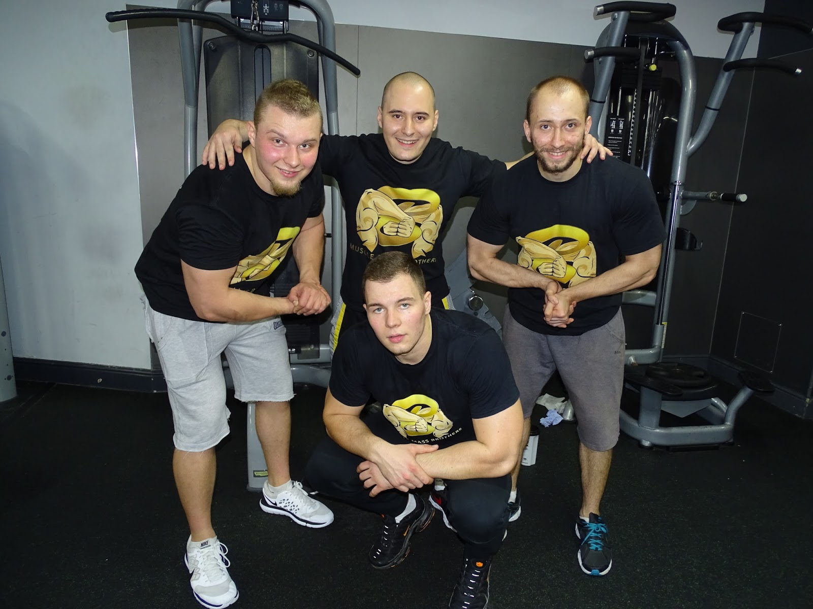 Muscle Mass Brothers - Black T-Shirt